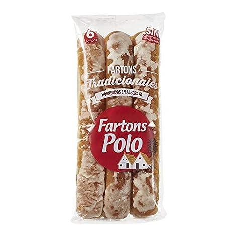 Fartons Polo Tradiciones De Alboraya 120 g - Pack de 12: Amazon.es ...