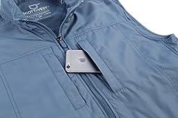 SCOTTeVEST Men\'s Featherweight Vest - 14 Pockets - Travel Clothing CDB L
