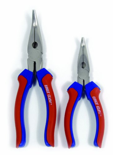 Eagle Claw Bent Nose Pliers (8-Inch)
