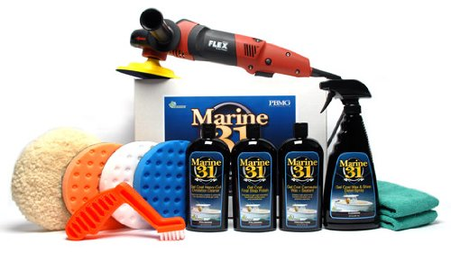 FLEX PE14-2-150 Marine 31 Boat Oxidation Removal Kit by Marine 31