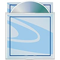 Poly Archival CD/DVD Sleeve with Safety-sleeve - Box of 500