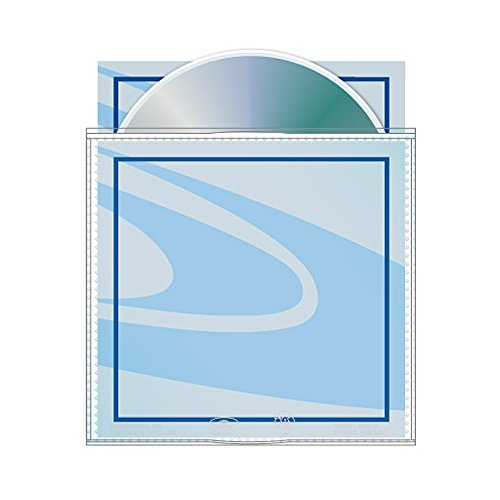 - Archival CD/DVD Sleeve with Safety-sleeve (Pack of 50)