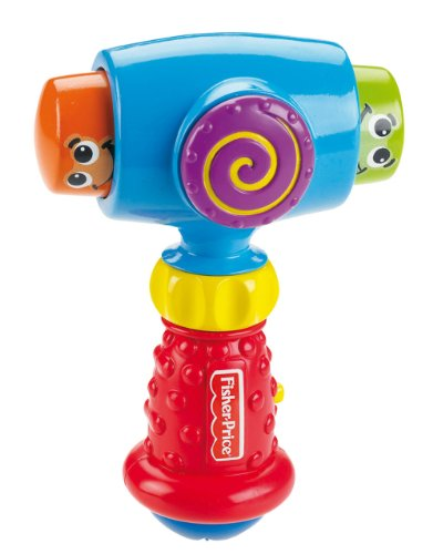 Fisher-Price Brilliant Basics Pound 'n Giggle Hammer by Fisher-Price