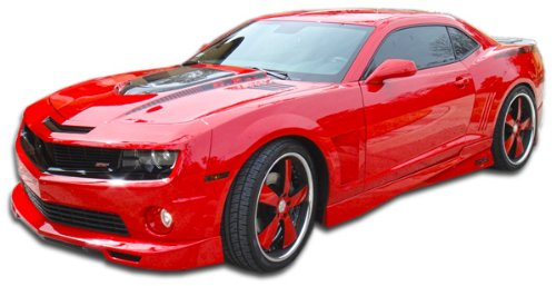 Duraflex ED-TFY-582 Racer Side Skirts Rocker Panels - 2 Piece Body Kit - Fits Chevrolet Camaro (Body Kit Racer Kit)