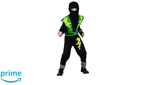 Dragon Ninja Disfraz infantil verde de Negro Halloween ...