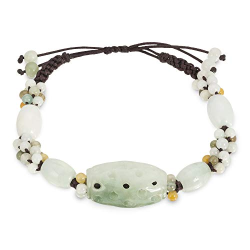 Ancient Sculpture Carving Handmade Jade Bracelet
