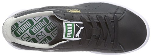 Puma – Unisex Glacier Sneaker Nero Basse Adulto Star Black Noir Gray NM Court White rRTYwpqr