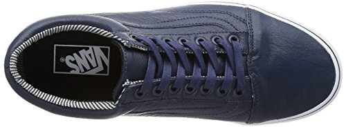 Deporte Unisex Blues Bleu Stripes VansOld Adulto para Zapatillas De Dress Exterior Azul Skool qcnxyASwFt