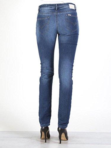 752 Look Normale Jeans Vestibilità Tessuto Elasticizzato Dritto Carrera Donna Regular Denim Modello Per Vita 5U1nwaUxBq