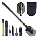 Best Camping Shovels - HARVET Military Portable Shovel and Pickax, 15-28 Inch Review