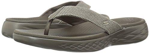 Skechers 55351 EUR Schuhgröße 44 Zehentrenner Khaki Boardwalk 5 GO on The 600 rrnS6qf