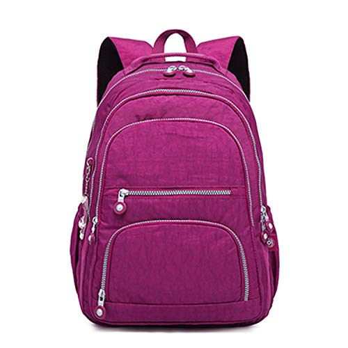 Backpacks Women School Backpack for Teenage Girls Female Backpack,purple red,33CMX16CMX47CM 1377