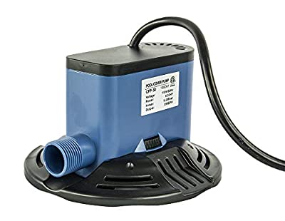 Pumps Away 350 GPH Submersible Swimming Pool Winter Cover Pump