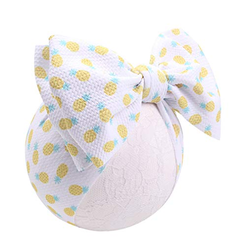 Fabric Turban - YanJie Baby Large Bows Headwrap Stretch Textured Fabric Top Knot Turban Headband Hair Accessories (YH22)