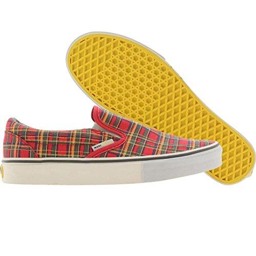 Vans Classic Slip-On LX Marc Jacobs Collection (Plaid - tomotoe Puree) - Classic Plaid Sneakers
