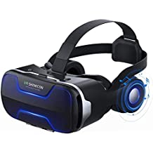 Virtual Reality Headset, VR SHINECON 3D VR Glasses VR Headset for TV, Movies & Video Games - VR Goggles Headsets Compatible with iOS, Android and Other Phones Within 4.7-6.0 inch