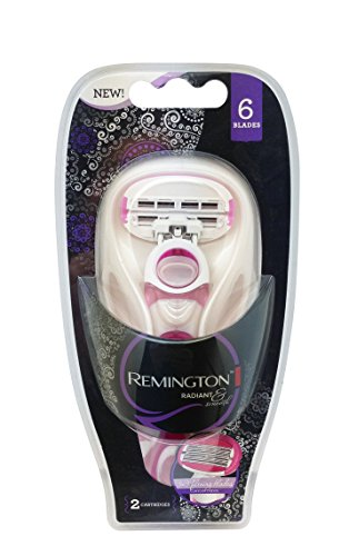 Remington Products Women's Radiant and Smooth Women Six Blade System, 1 Count