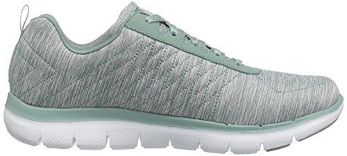 Skechers Kvinders Flex Appellere 2,0 Sneaker Salvie Hvid Trim