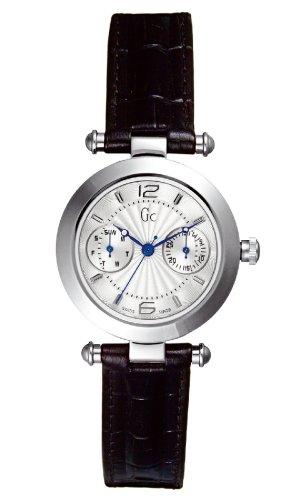 Guess Collection L`Etoile 14010L1 - Reloj de mujer de cuarzo con correa de piel negra: Amazon.es: Relojes