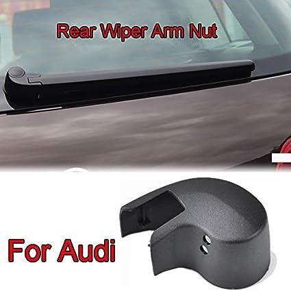 Xukey 1Pc Rear Windshield Wiper Arm Nut Cap Washer Cover For Audi A1 A3 8P 8V A4 B6 B7 B8 B9 A6 C6 C7 Avant Q3 Q5 Q7 4L SUV