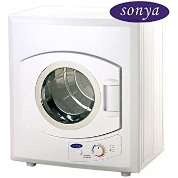 Amazon.com: Sonya Portable Compact Small Laundry Dryer Apartment ...
