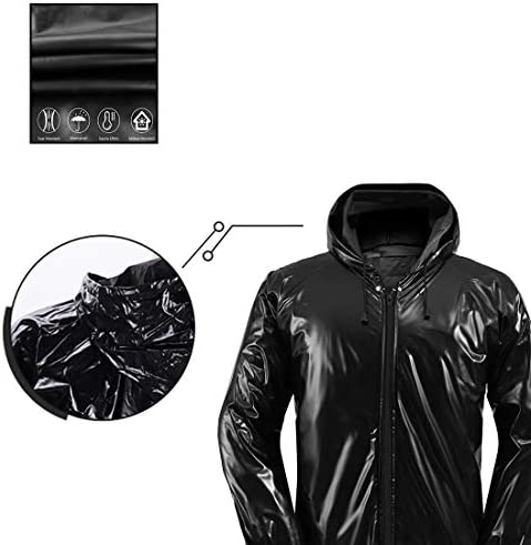 STEPHY Weight Loss Heavy Duty Sweat Sauna Suit for Men Women Exercise Gym Suit for Fitness Training Gym Jacket Pant 2