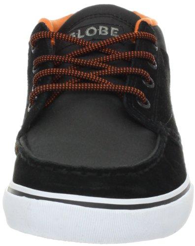 GLOBE Skateboard Shoes DUNCOME THE BENDER BLACK/ORANGE