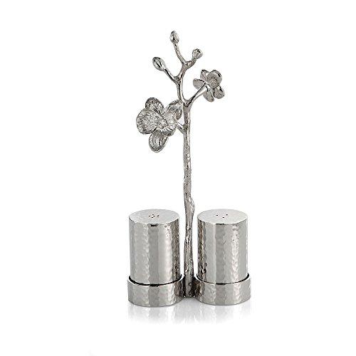 Michael Aram White Orchid Salt & Pepper Set by Michael Aram