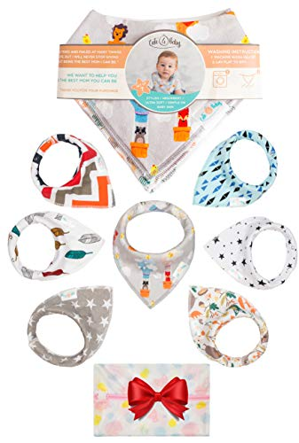 Unisex Baby Bandana Drool Bibs product image