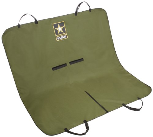 US Army 9602 Pet Car Seat Cover, Green