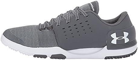 e8e217aae Under Armour Men's Limitless 3 Sneaker, Graphite (101)/White, 7 ...