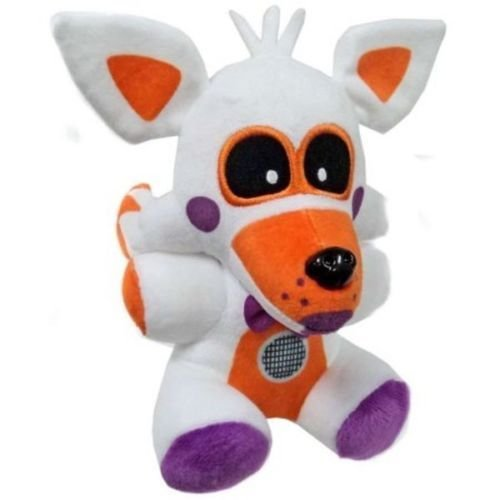 PampasSK Movies & TV - FNAF Exclusive 8 Lolbit Plush Five Nights at Freddys Sister Location 1 PCs