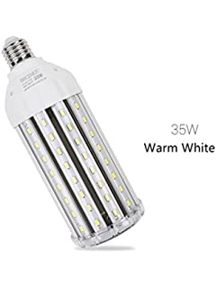 E27 35W Bombilla LED Blanco Cálido 3000K -Alta Luminosidad Lampara LED Ángulo de Haz 360