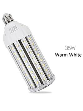 E27 35W Bombilla LED Blanco Cálido 3000K -Alta Luminosidad Lampara LED Ángulo de Haz 360° 3000 Lumen Sustituye la lámpara incandescente de 250W: Amazon.es: ...