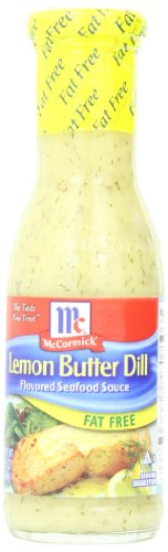 McCormick Golden Dipt Fat Free Lemon Butter Dill Sauce, 8.7 oz (Case of (Mccormick Lemon Pepper)