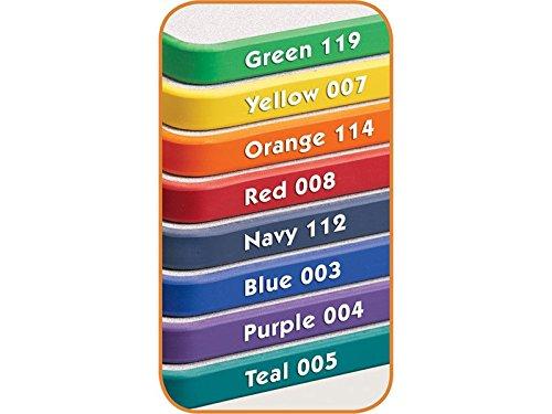 Rainbow Accents Kydz Kidney Activity Table w Powder-Coat Legs (11 - 15 in. H - Navy)