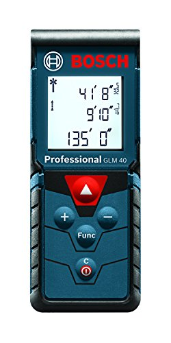 Bosch Laser Measure, 135 Feet GLM 40 (Real Estate Appraisal From Value To Worth)