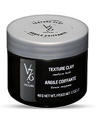 V76 by Vaughn TEXTURE CLAY Medium Hold Formula for Men, 1.7 oz