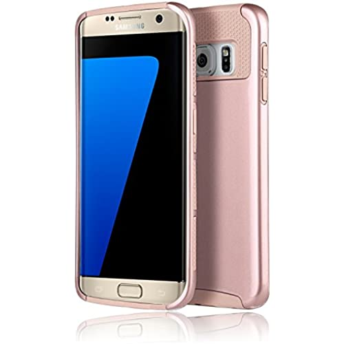 Galaxy S7 Edge Case,E-weekly(TM) Premium Extra Slim Shockproof Case, Hybrid Dual Layer Protective Case Cover 2 Sales