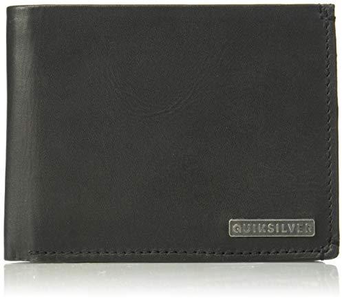 (Quiksilver Men's ACKTOR TRI FOLD Wallet, black M)