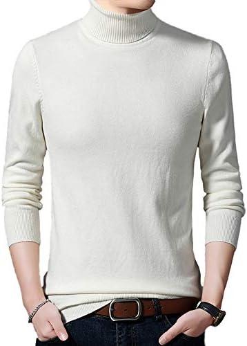 メンズ ハイネック セーター ニット タートルネック スリム 無地 秋冬 長袖 防寒 カジュアル トップス 大きいサイズ おしゃれ 快適 9色 トップス かっこいい M-5XL
