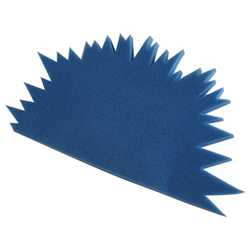 U.S. Toy Foam Child Size Spike Blue Mohawk Hat