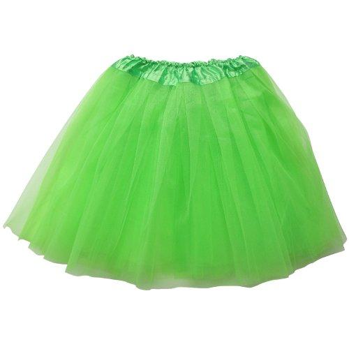 Plus Size Adult - Princess Costume Ballet Warrior Dash 5K Run - Tutu (Lime (Lime Tutu)