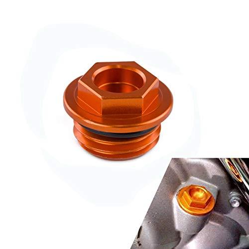 Kavas - CNC Billet Oil Filler Plug Cap For KTM 125 200 250 300 350 450 500 525 530 690 SX SXF EXC XCF XCW XCFW EXCF SIX DAYS Freeride