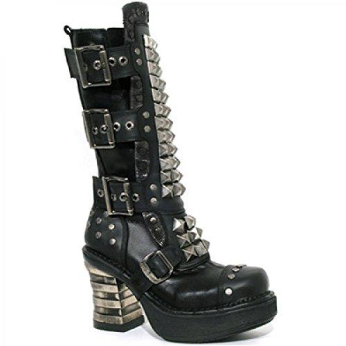 New Rock Boots M.8342-r1 Elegante Roccia Urbana Damen Stiefel Schwarz