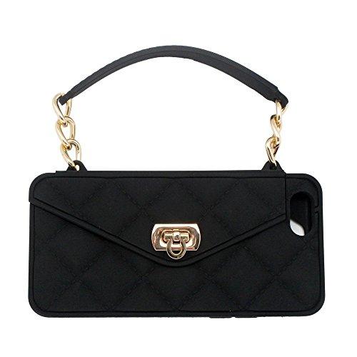 iPhone pursecase Smartphone Crossbody BlackGold product image