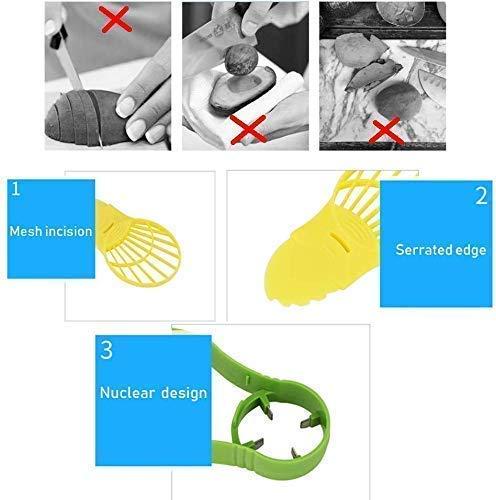 Avocado Slicer,Saver 5 in1 Tools Set-Avocado Cutter//Peeler//Pitter//Masher//Storage?Essential Artifact for Family