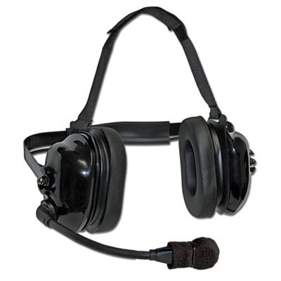 [해외]Klein Electronics TITAN-FLEX Titan FlexBoom 헤드셋; /Klein Electronics TITAN-FLEX Titan FlexBoom Headset; Extreme High-Noise, Dual-Muff Headset with FlexBoom Microphone, Foam Pads and Black earshells; Extreme noise reducing-Racing,...