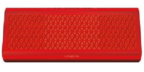 Creative Airwave HD Portable Wireless Bluetooth Speaker with NFC (Red) (Creative Airwave)