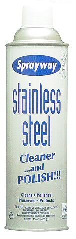 Stainless Steel Polish & Cleaner - 15 Oz. Aero. 8R-DUWW-XQ2G